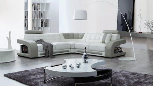 Casanova Leather Corner Lounge Option A