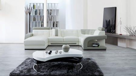 Casanova Leather Modular Lounge Option C