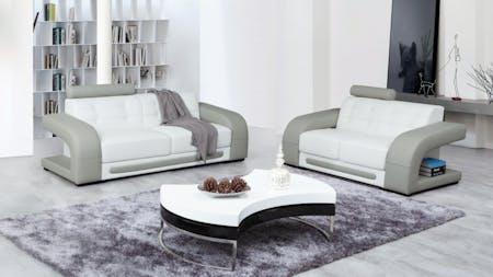 Casanova Leather Sofa Suite 3 + 2