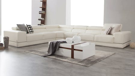 Napoleon Leather Corner Lounge Option B
