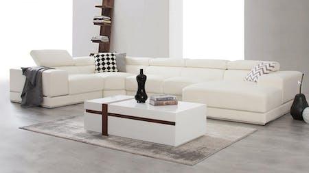 Napoleon Leather Modular Lounge Option C