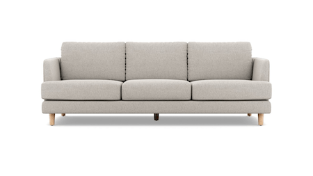 Stellar Fabric Three Seat Sofa