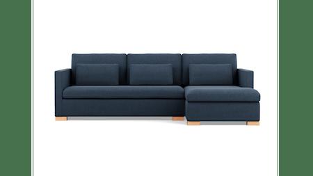 Harper Fabric Chaise Lounge Option B