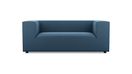 Atlas Fabric Two Seat Sofa