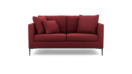 Hubble Fabric Two Seat Sofa