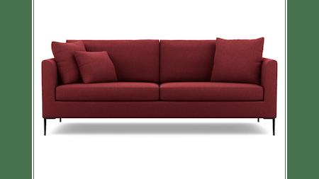 Hubble Fabric Three Seat Sofa