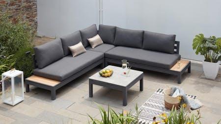 Malibu Outdoor Fabric Corner Lounge