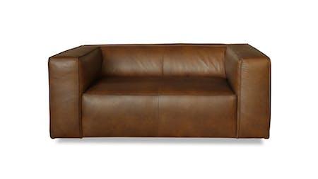 Otto Leather Two Seater Sofa