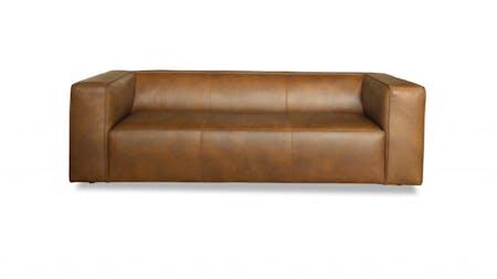 Otto Leather Three Seater Sofa