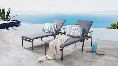 Santa Monica Outdoor Sunlounge Set