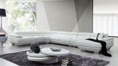 Lexington Leather Modular Lounge Option B