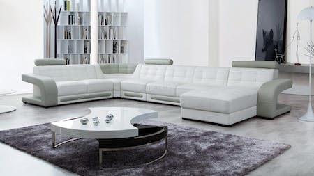Casanova Leather Modular Lounge Option B