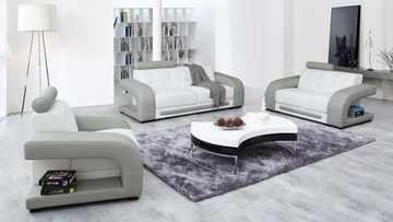 Casanova leather sofa suite 3 2 1 lounge life for Sofa 3 cuerpos casanova austin