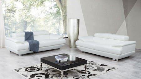 Lexington Leather Sofa Suite 3 + 2