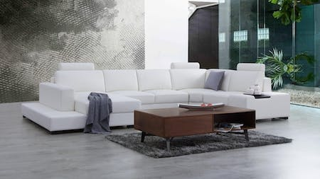 Hollywood Leather Modular Lounge Option C