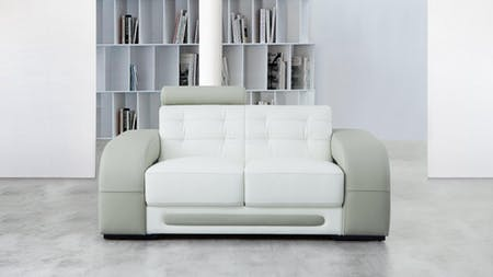 Casanova Leather Two Seat Sofa