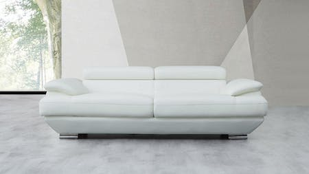 Lexington Leather Three Seat Sofa