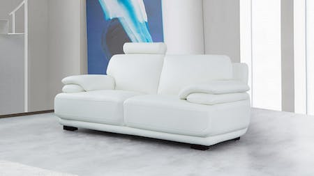 Juliet Leather Two Seat Sofa