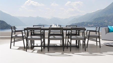 Blaze 8 Seater Outdoor Dining Set