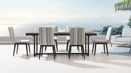 Kroes 6 Seater Outdoor Dining Set