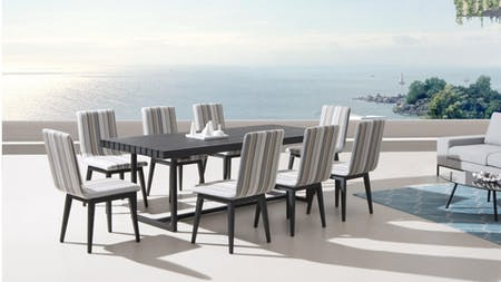 Kroes 8 Seater Outdoor Dining Set