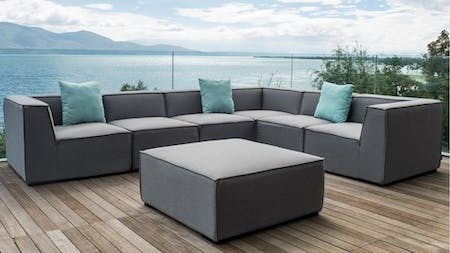 Toft Outdoor Fabric Corner Lounge