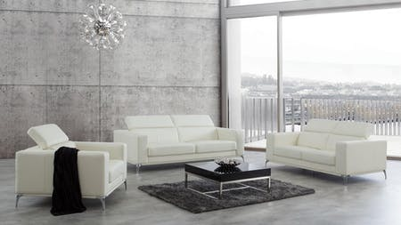 Club Leather Sofa Suite 3 + 2 + 1