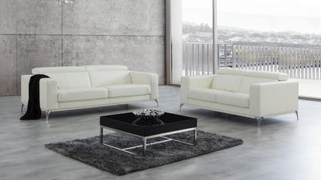 Club Leather Sofa Suite 3 + 2