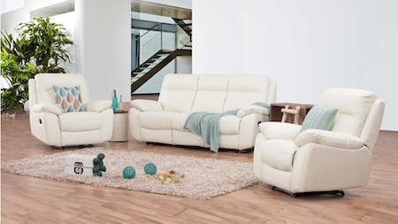 Berkeley Leather Recliner Sofa Suite 3 + 1 + 1