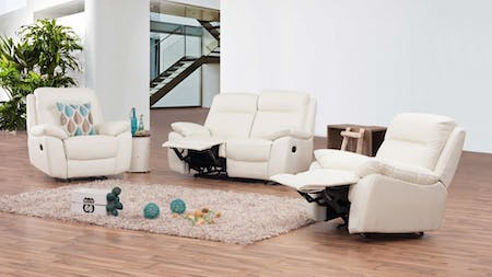 Berkeley Leather Recliner Sofa Suite 2 + 1 + 1