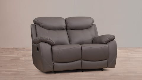 Brighton Leather Recliner Two Seater