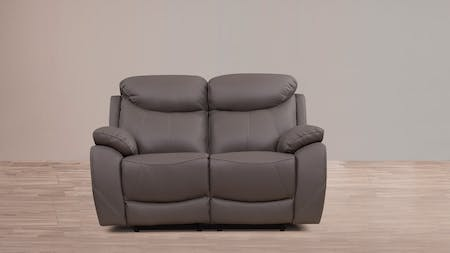 Brighton Leather Recliner Two Seater Sofa