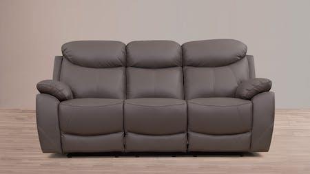 Brighton Leather Recliner Three Seater Sofa