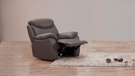 Brighton Leather Recliner Armchair