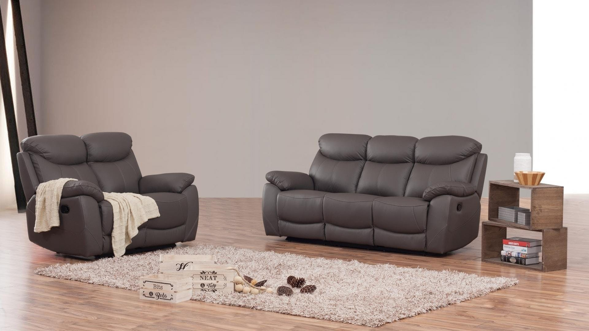 Surprising Brighton Leather Recliner Sofa Suite 3 2 Lounge Life Gmtry Best Dining Table And Chair Ideas Images Gmtryco