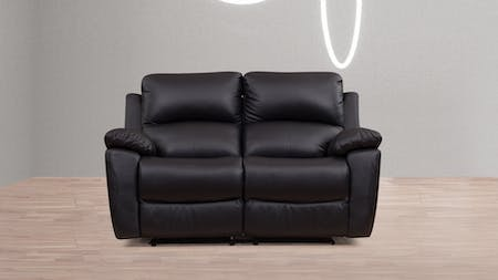 Balmoral Leather Recliner Two Seater Sofa