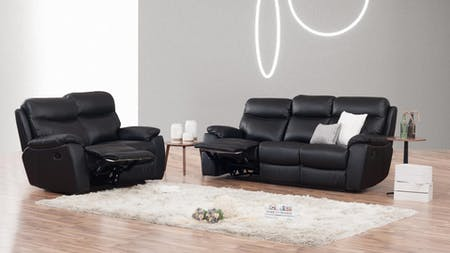 Balmoral Leather Recliner Sofa Suite 3 + 2