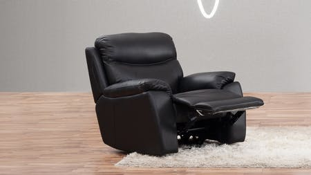 Balmoral Leather Recliner Armchair
