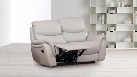 Richmond Leather Recliner Two Seater Sofa
