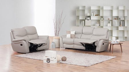 Richmond Leather Recliner Sofa Suite 3 + 2