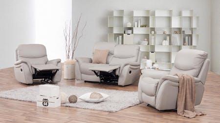 Richmond Leather Recliner Sofa Suite 2 + 1 + 1