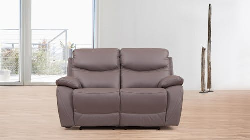 Chelsea Leather Recliner Two Seater Sofa