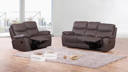 Chelsea Leather Recliner Sofa Suite 3 + 2