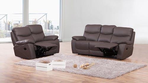 Chelsea Leather Recliner Sofa Suite 3 + 2