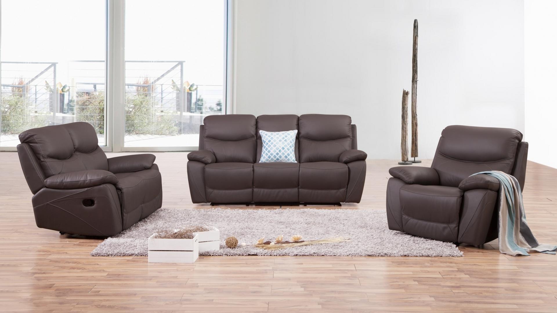 chelsea leather recliner sofa suite 3 2 1 lounge life. Black Bedroom Furniture Sets. Home Design Ideas
