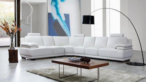 Juliet Leather Corner Lounge Option B