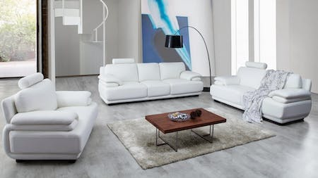 JULIET Leather Sofa Suite 3 + 2 + 1
