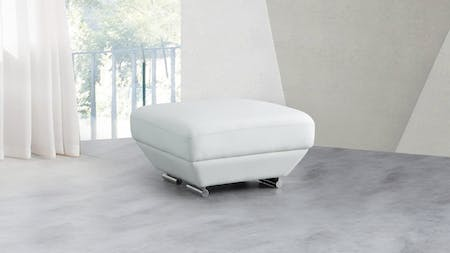 Lexington Leather Ottoman 75x75x45