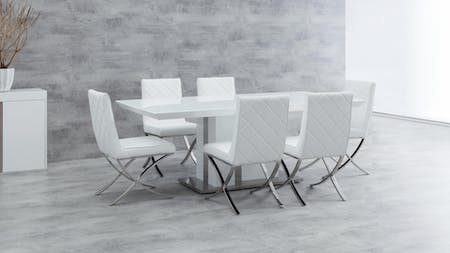 NEW YORK Dining Set 7-piece