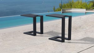 Noosa Outdoor Aluminium Side Table